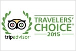 2015 trip advisor traveler's choice seal